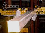 Barra Quadrada de Inox